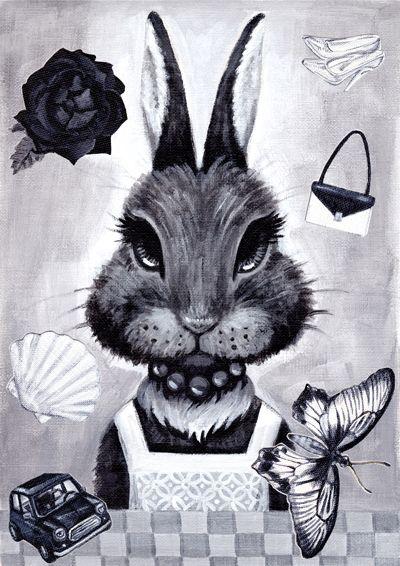 yumie ogawa [ Black rabbit ]