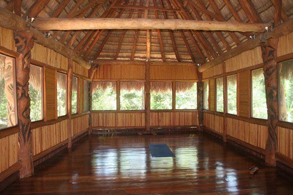 Yoga en la selva. Si, por favor!