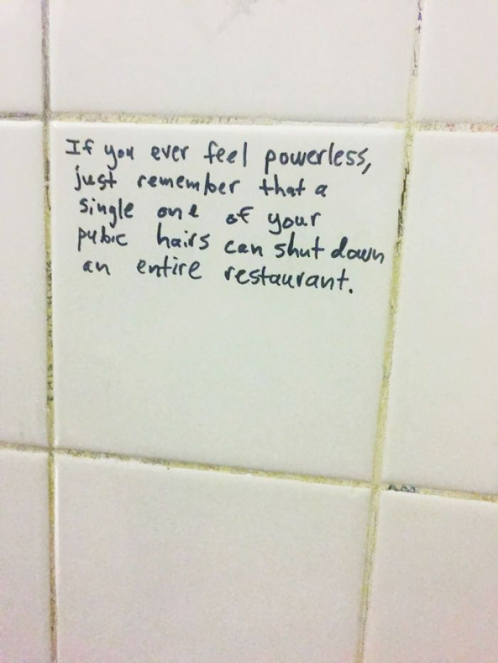 Best Bathroom Stall Quotes trending now] 15 inspirational bathroom stall messages to make