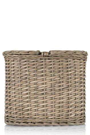 buy wicker toilet roll stacker from the next uk online