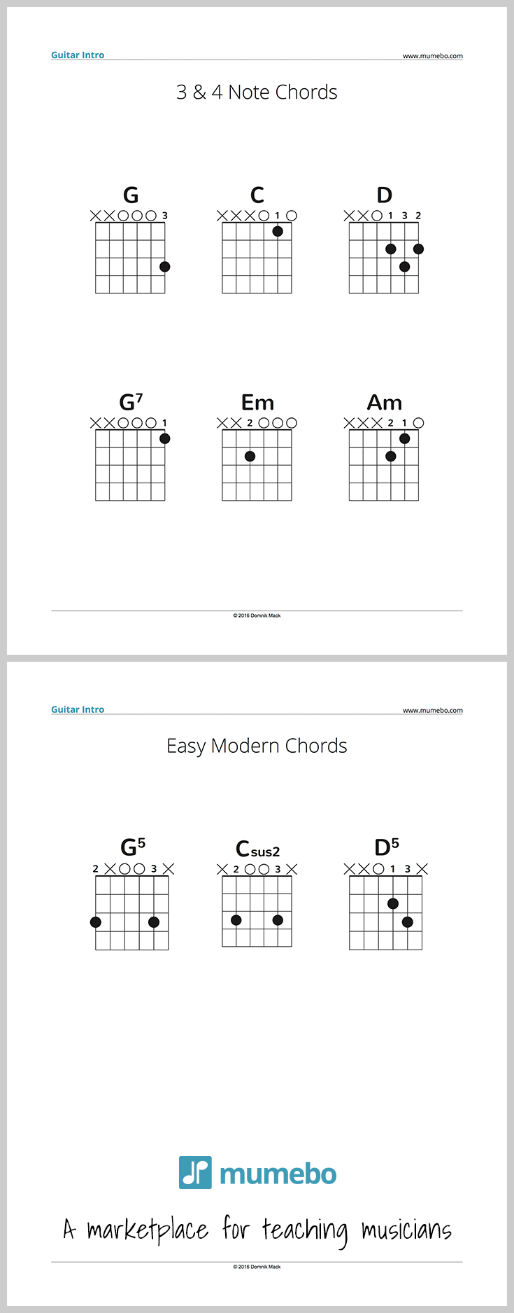 Free pdf sample for guitar teachers simple chords for a first free pdf sample for guitar teachers simple chords for a first guitar lesson 3 hexwebz Image collections