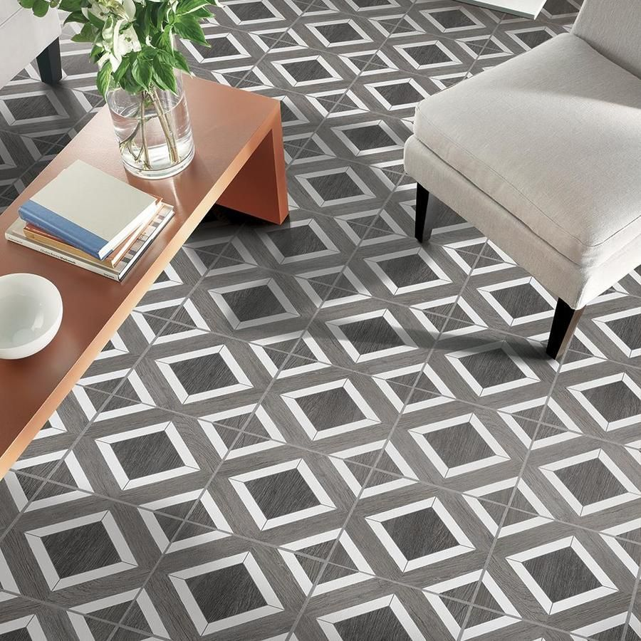 Armstrong Flooring Terraza 1 Piece 12 In X 12 In Harbor Gray Peel And Stick Vinyl Tile At Lowes Com Vinyl Tile Grey Vinyl Flooring Stick On Tiles