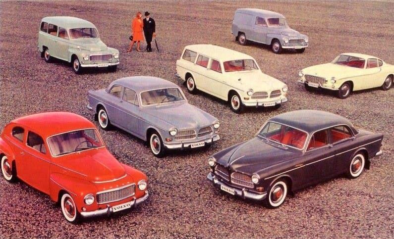 Volvo Cars in 1960.s