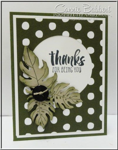 Ladies and Gentlemen Botanical Blooms cards for the April Tour de Freaks blog hop. Suite Sayings, Stampin' Up!, #stampinup, created by Connie Babbert, see the ladies at www.inkspiredtreasures.com