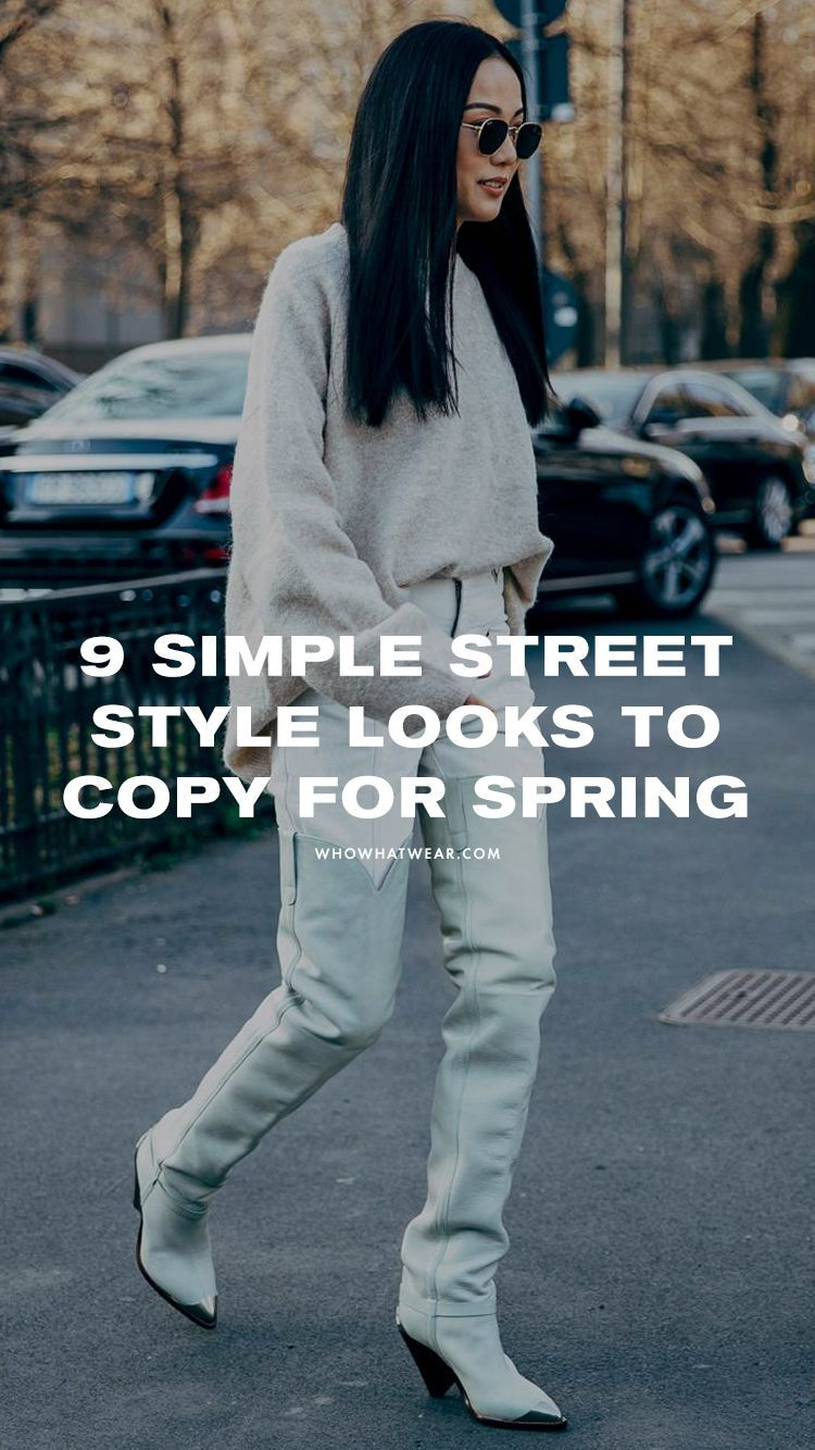 My Style Is Simple, and These Are the Street Style Looks I'm About to Copy