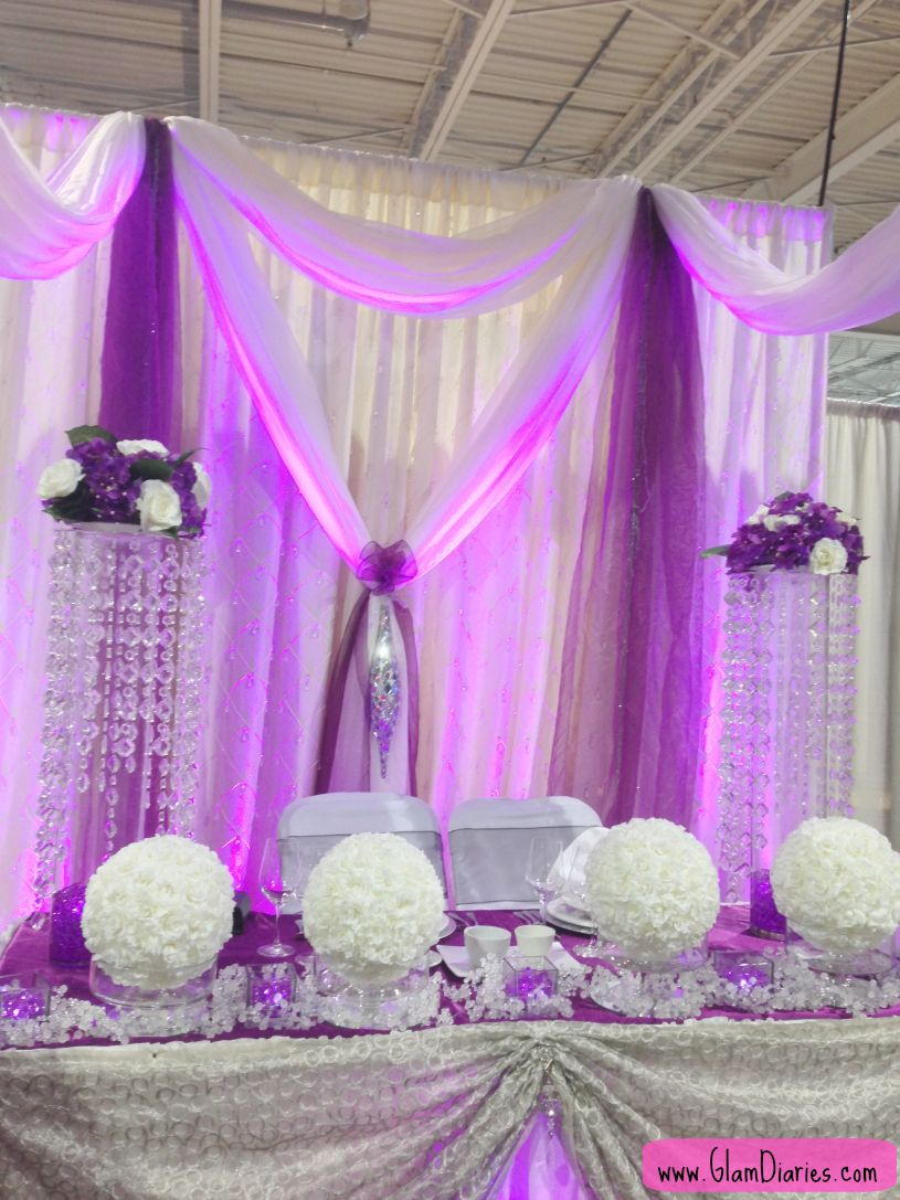 Purple Gold Wedding Theme Google Search Purple Wedding Tables