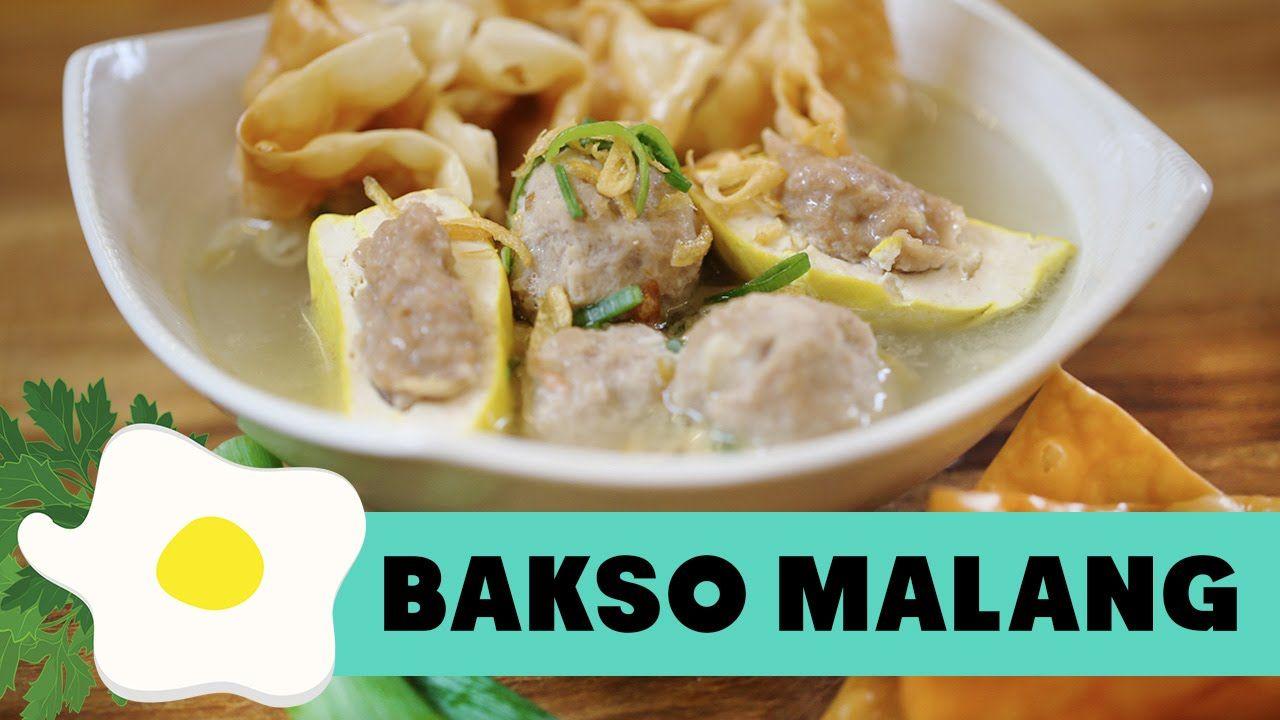 Resep Bakso Malang Makanan Resep Masakan Indonesia Resep