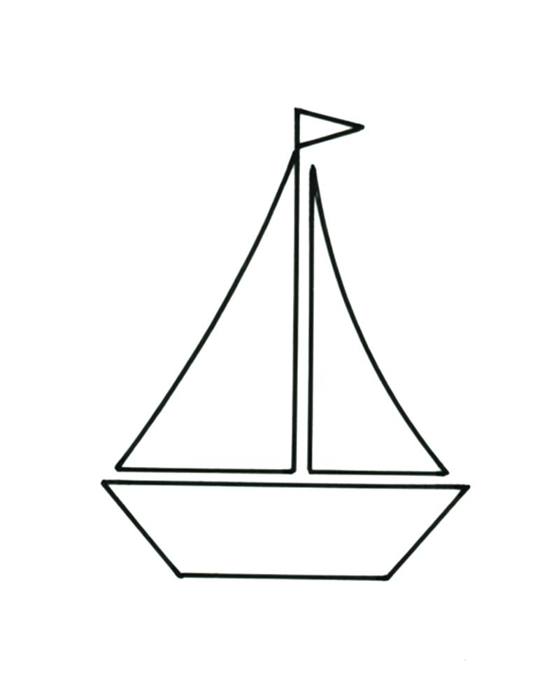 Intrepid image within sailboat template printable