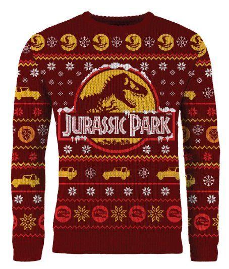 Jurassic Park: Knitted Christmas Sweater/Jumper #jurassicparkworld