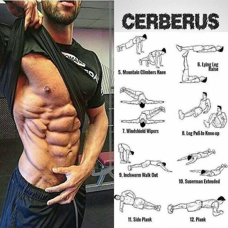 Beste Bauchübungen & Muskelaufbau #stomachexercises