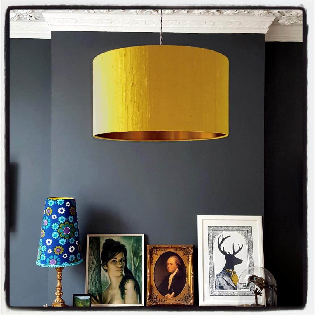 The Shop And Studio Clear Out Continues We Still Have A Few Slight Seconds And Discontinued Lampshades Up For G Silk Lampshade Copper Lampshade Drum Lampshade