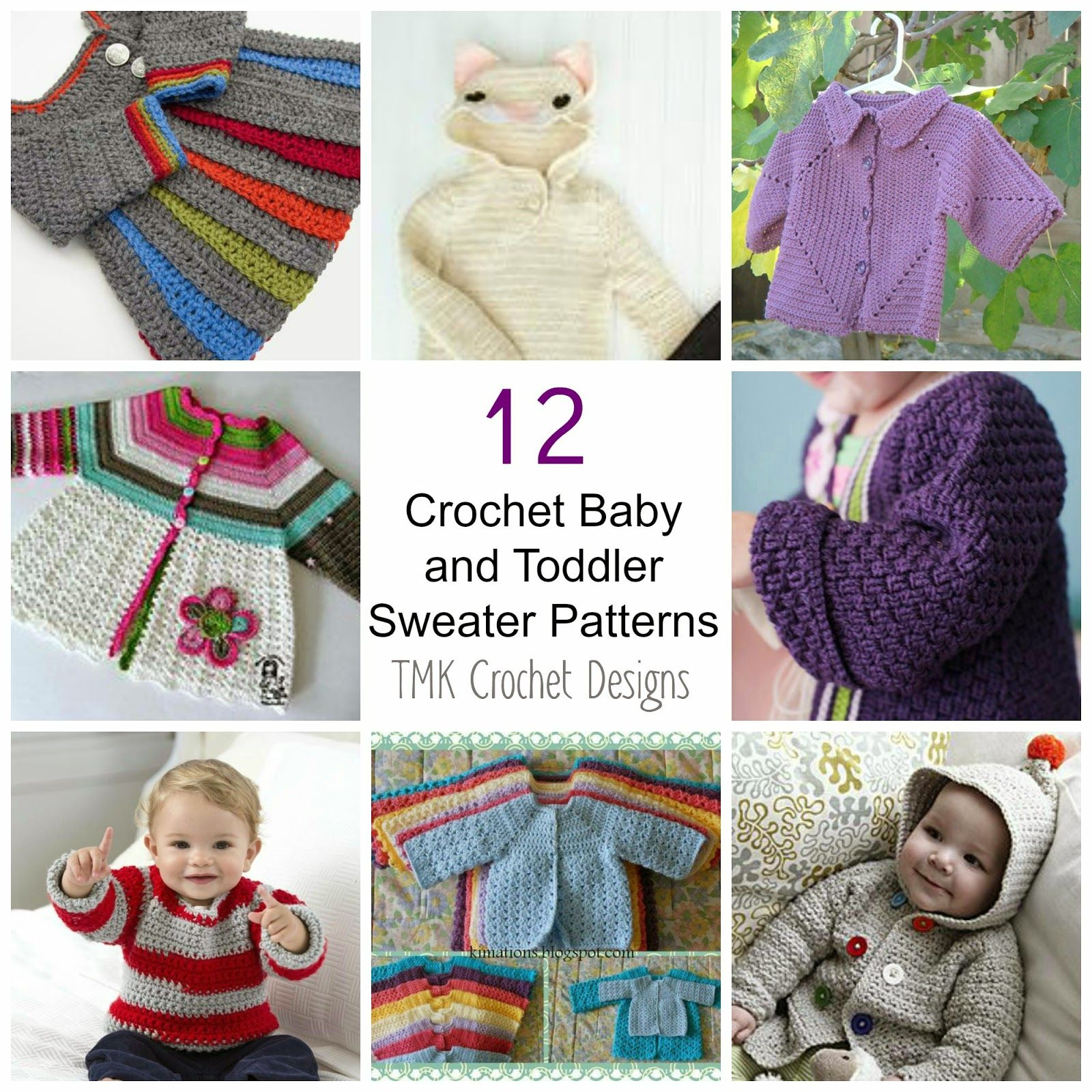 Tmk crochet free crochet pattern round up baby toddler tmk crochet free crochet pattern round up baby toddler sweaters bankloansurffo Images