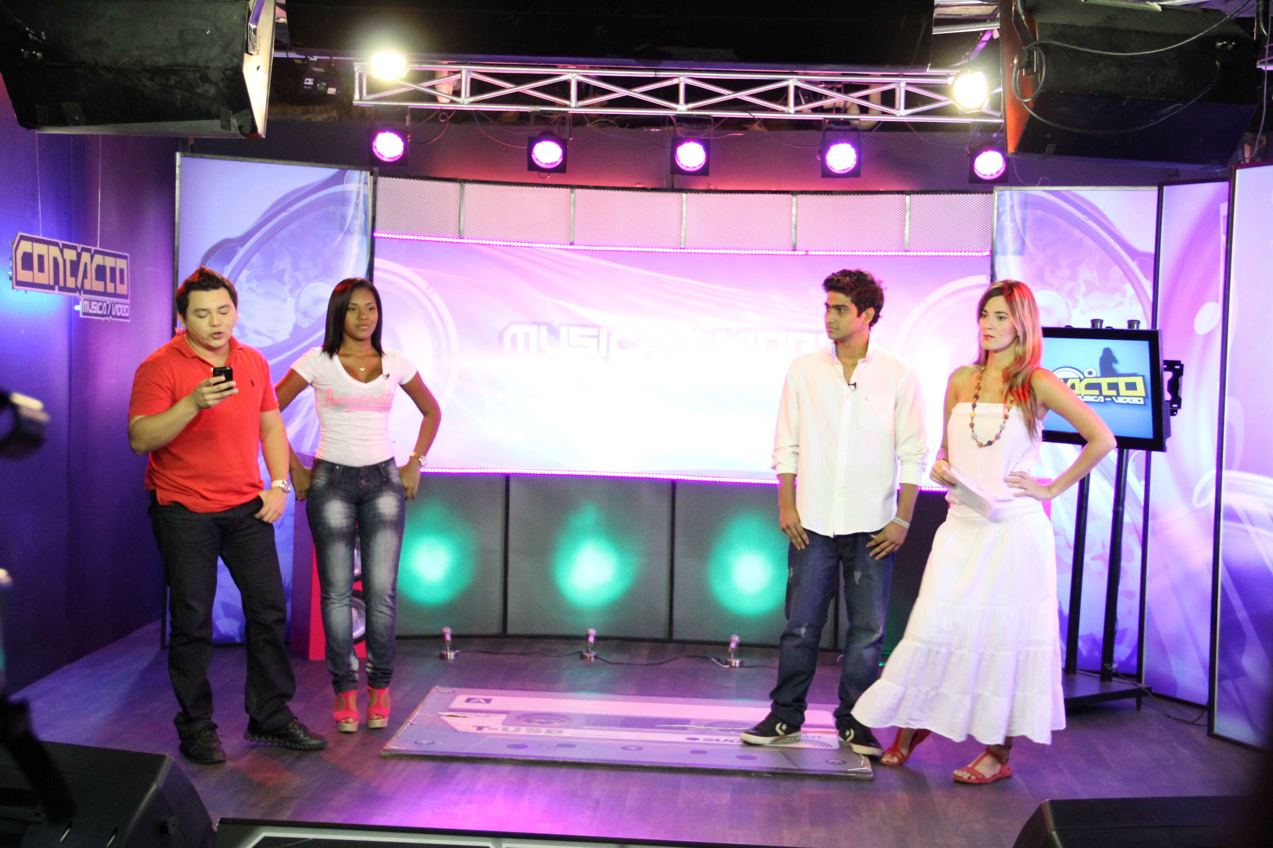 Factor 4: Procesos Académicos. Ruta académica a la ciudad de Barranquilla, instalación de Telecaribe. #Unicartagena #ComunicaciónSocial