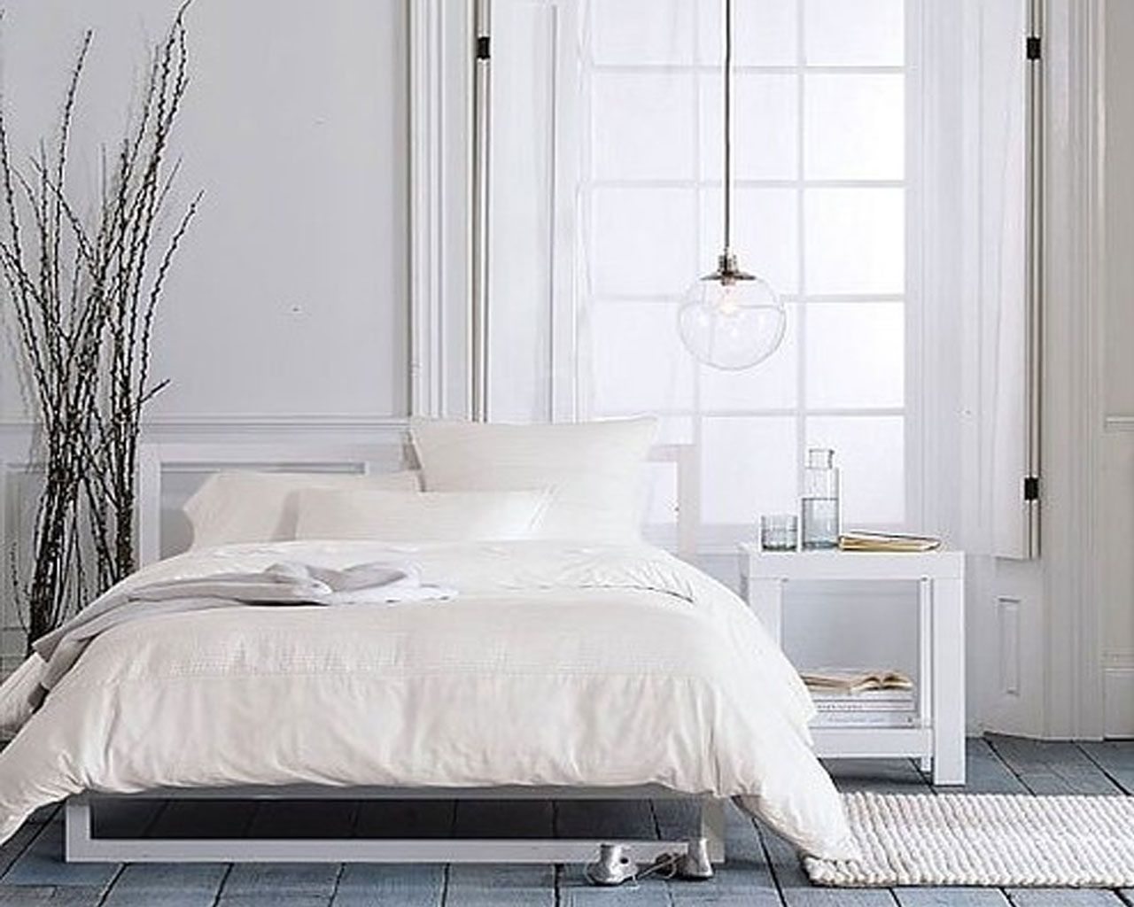 Best 16 Cool And Modern White Bedroom Designs Beautiful White 400 x 300