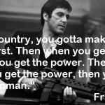 Best Quotes From Scarface | Quotes of Tony Montana for Scarface for use on Facebook