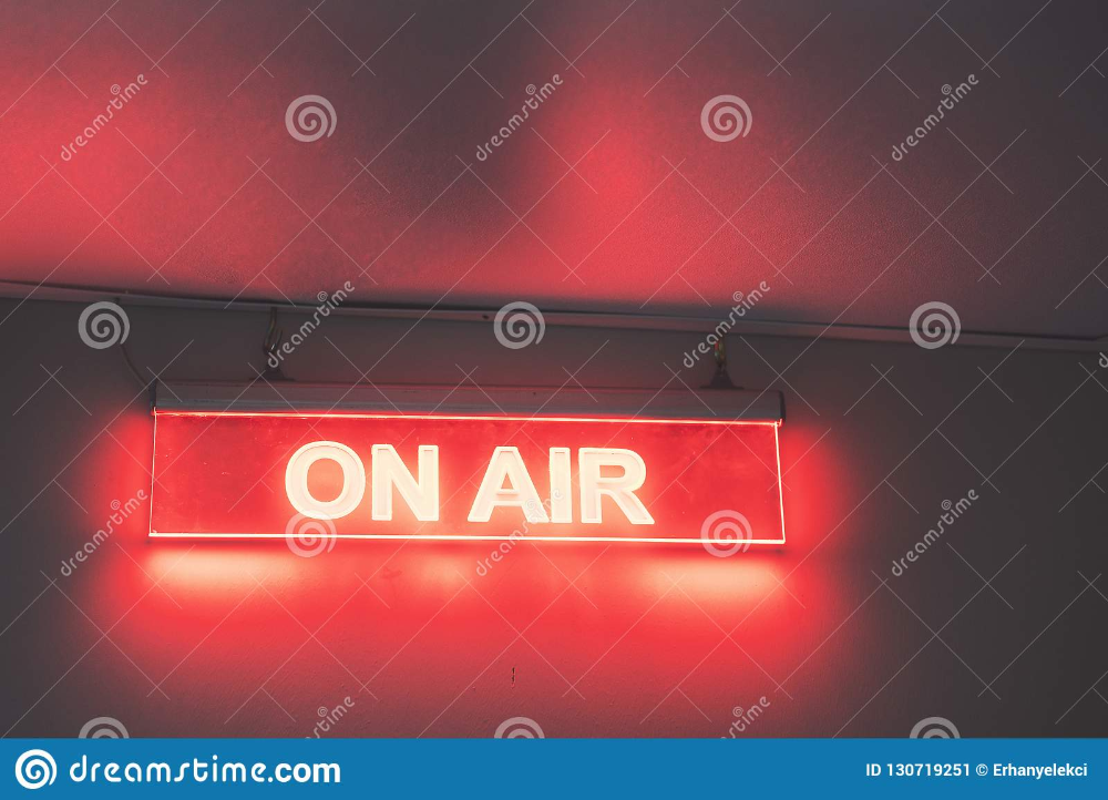 On Air Sign For Radio Station Stock Image Image Of Light Design 130719251 On Air Sign Air Signs Radio Station