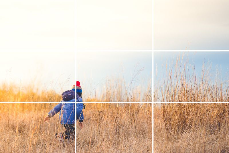 How to Use the Rule of Thirds in Photography | Rule of thirds ...