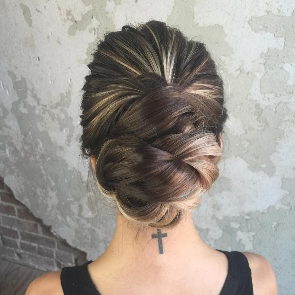 most delightful prom updos for long hair in updos formal