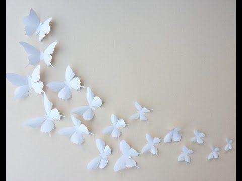 Mariposas Para Decorar Para Imprimir