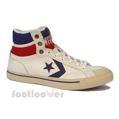 b32cb5e3f1f77f Scarpe Converse Pro Blaze Hi 139862C uomo sneakers basket White-Royal Blue  IT