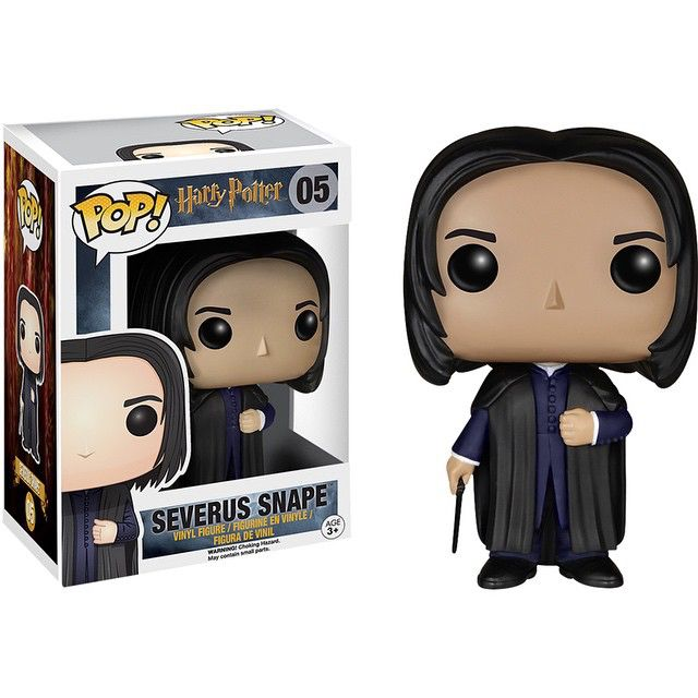 Preview of the upcoming Severus Snape Pop! Vinyl (Release date: late-May) #funko #funkopop #popvinyl #popvinyls #vinyl #collectible #harrypotter