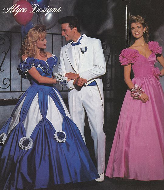 'The Prom Collection' (1988) AlyceDesigns 80s prom dress