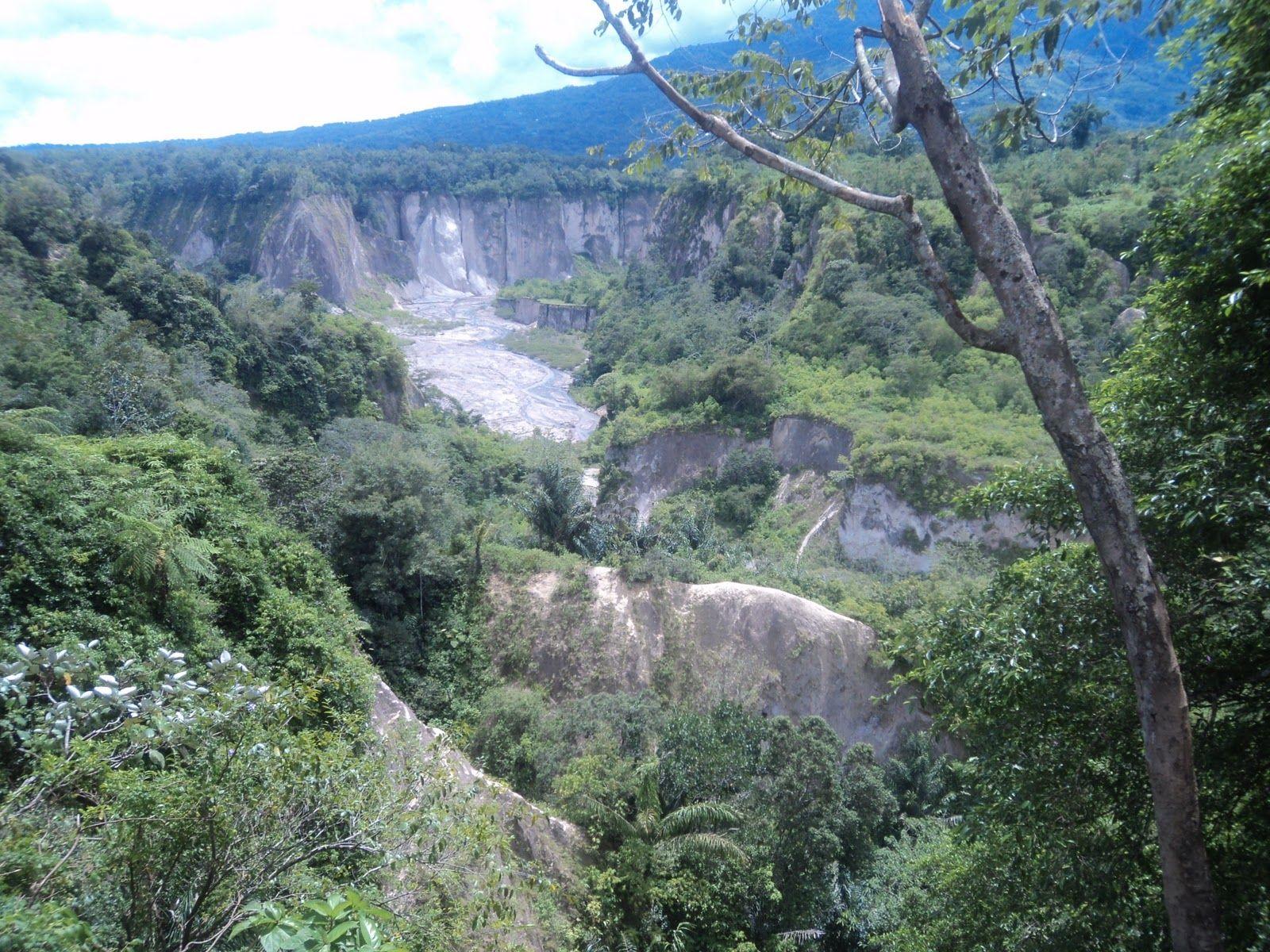 Indonesia. Sumatra. Rainfall in the canyon 75