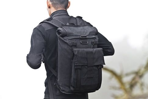 weatherproof modular backpack