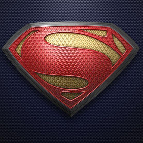 Man Of Steel Chest Emblem Superman Wallpaper Logo Superman Pictures Cool Superman Wallpapers