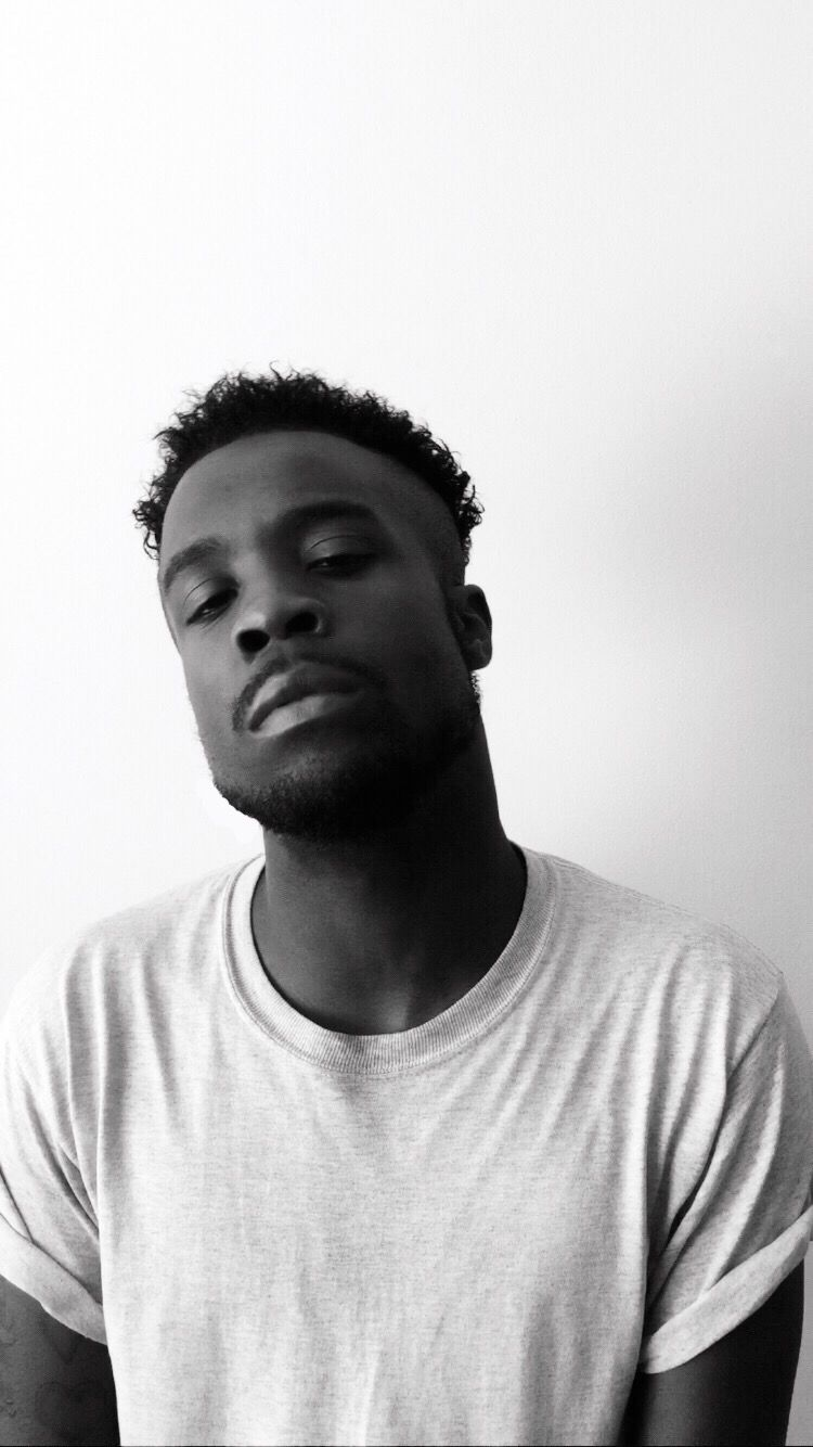 German Fitchson poses for black &a white photoshoot | music
