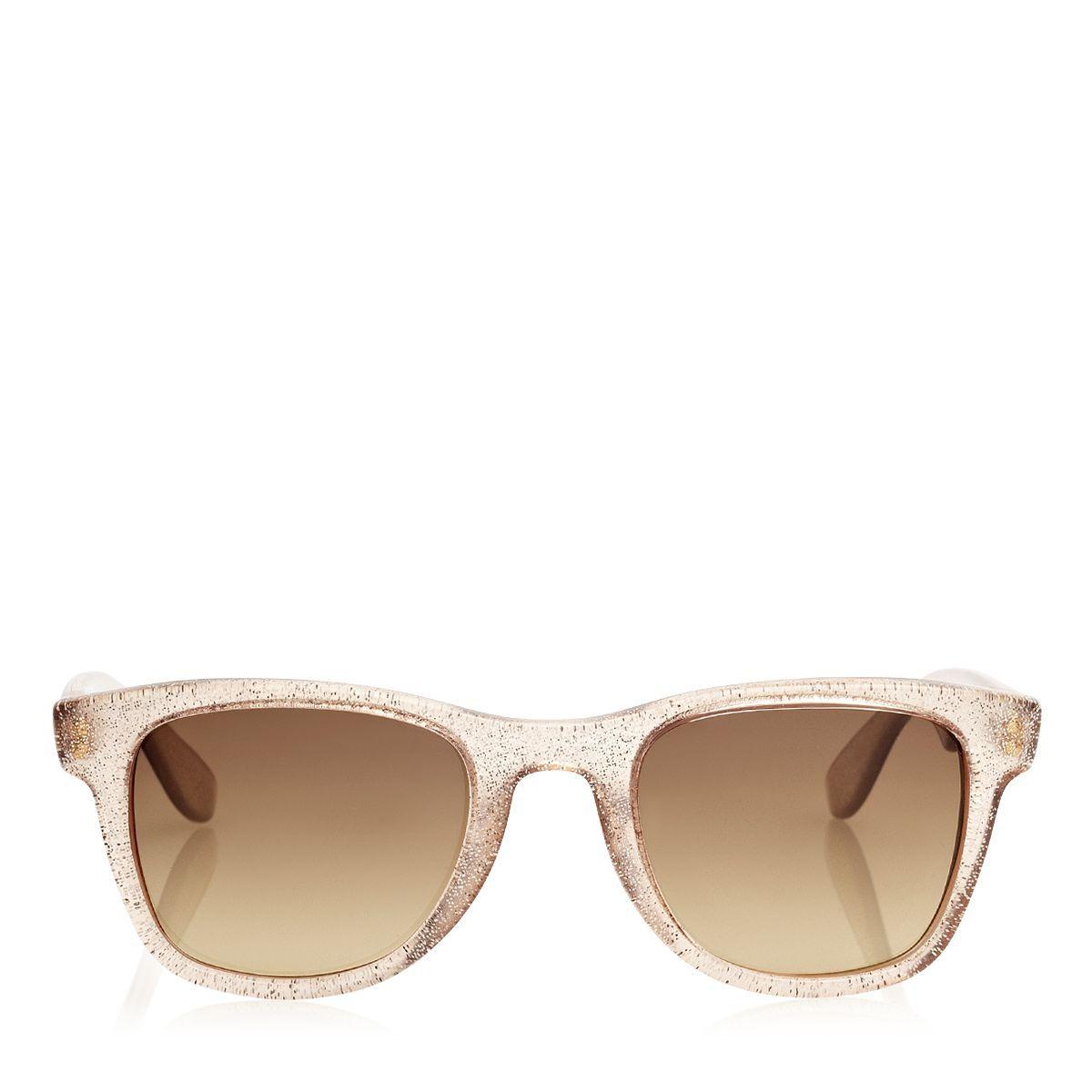 cebbb5adeb6 Carrera Nude Glitter Carrera 6000 Sunglasses by  Jimmy Choo  Jimmy Choo (US)