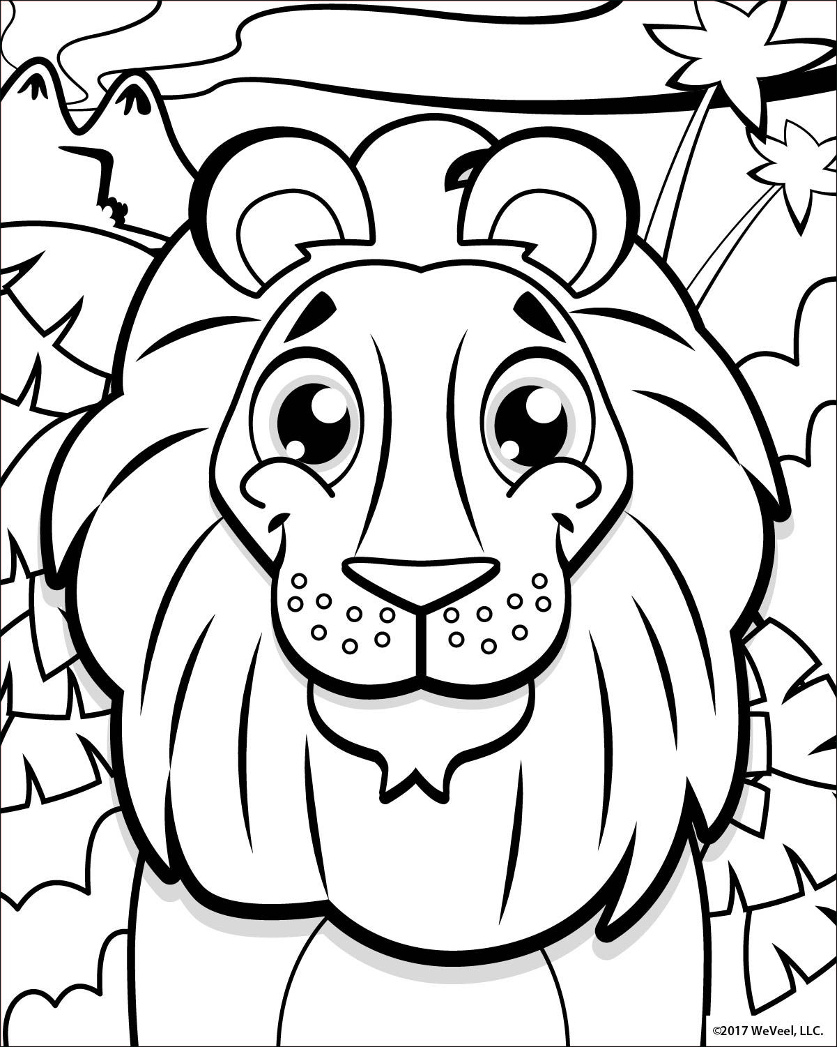 Coloring Pages Jungle Free Printable