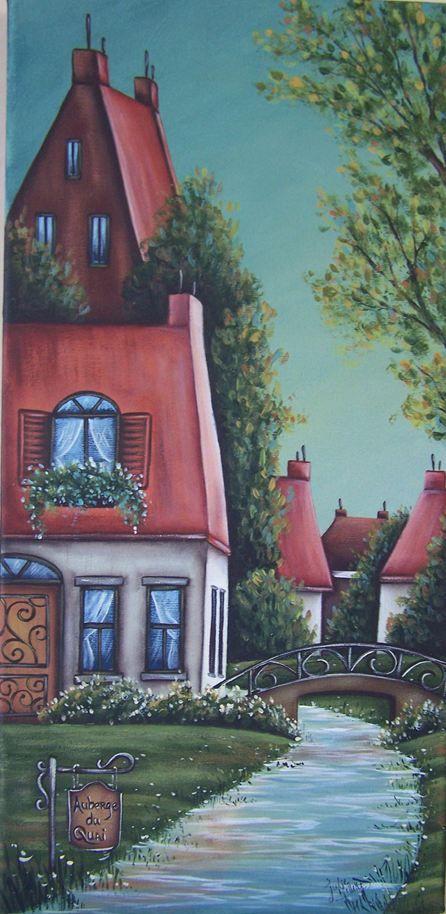 Atelier de Julie - Patron ACRYLIQUE   Peinture sur bois   Pinterest ...