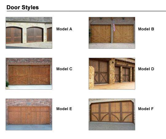Doorlink Woodland Creek Model Carriage House Residential Garage