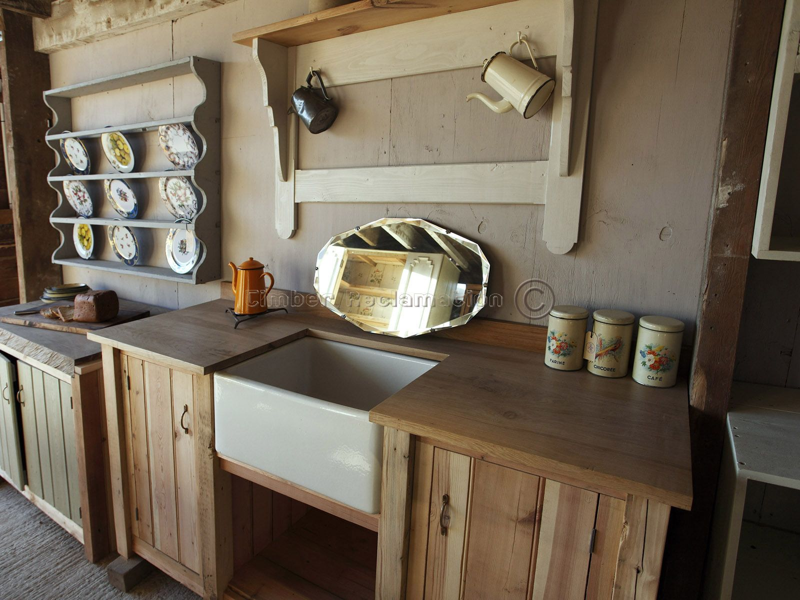 reclaimed kitchen - Google Search | House | Pinterest | Sink units ...