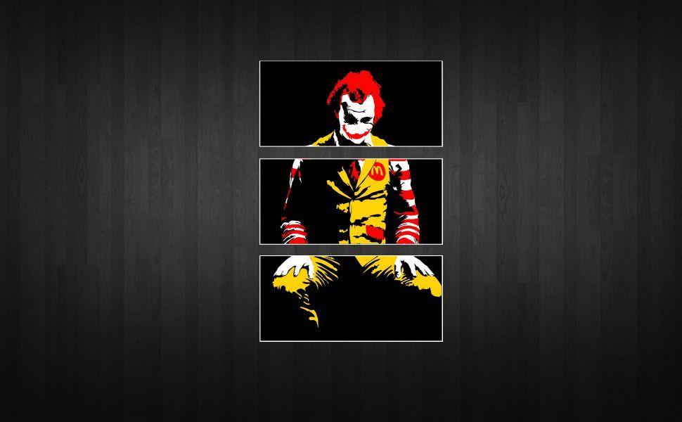 Ronald Mcdonald Joker HD Wallpaper Windows 10 Mcdonalds