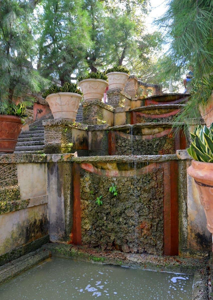 A Visit to the Italian-Inspired Gardens of Vizcaya | Favorite ...