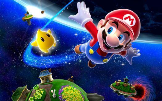 Super Mario 3d Cartoons Hd Wallpaper Pc For Android Background 308 Pieces Super Mario Galaxy Cartoon Wallpaper Galaxy Poster