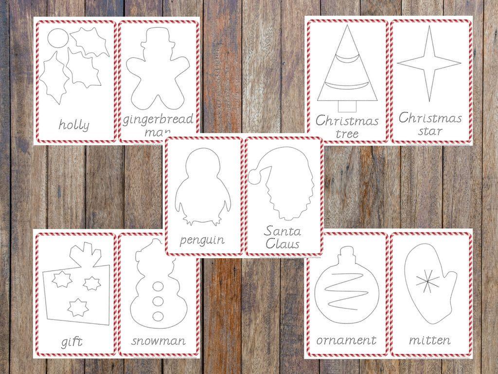 Winter Pin Punching Cards