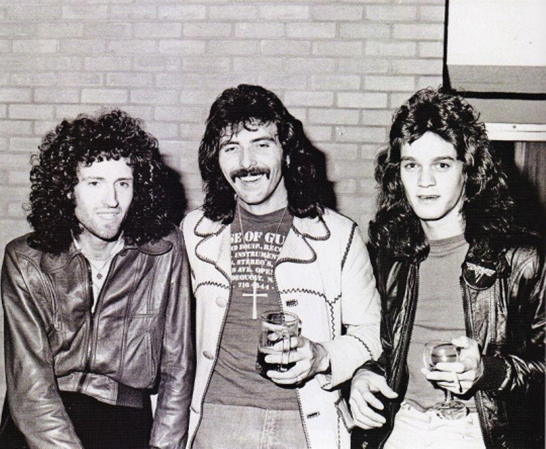 Brian May Tony Iommi Eddie Van Halen Brian May Van Halen Eddie Van Halen