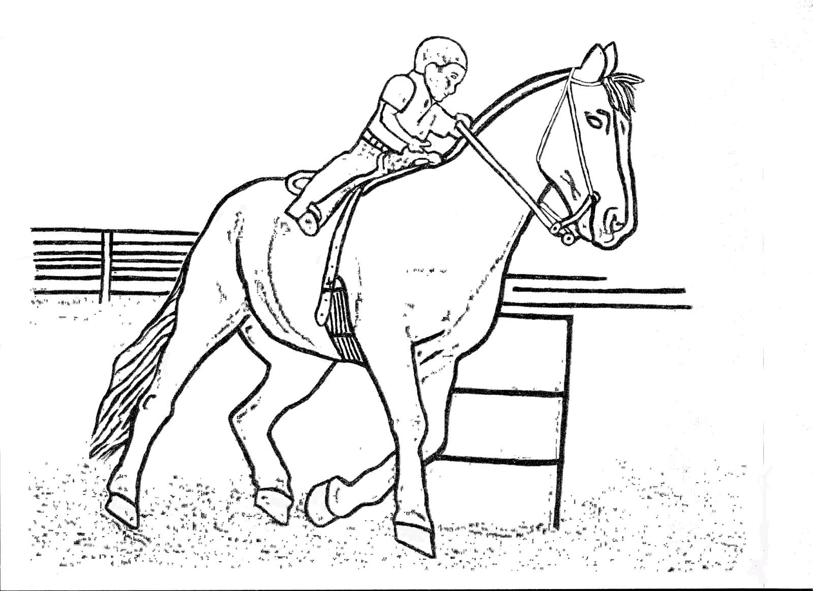 Barrel Racing Horse Coloring Pages | Rodeo Art | Pinterest | Barrel ...