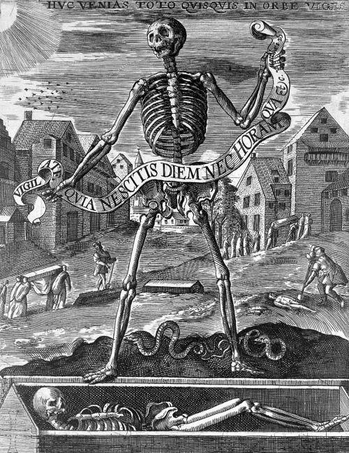 scribe4haxan:  Allegory of Death ( c.1600)