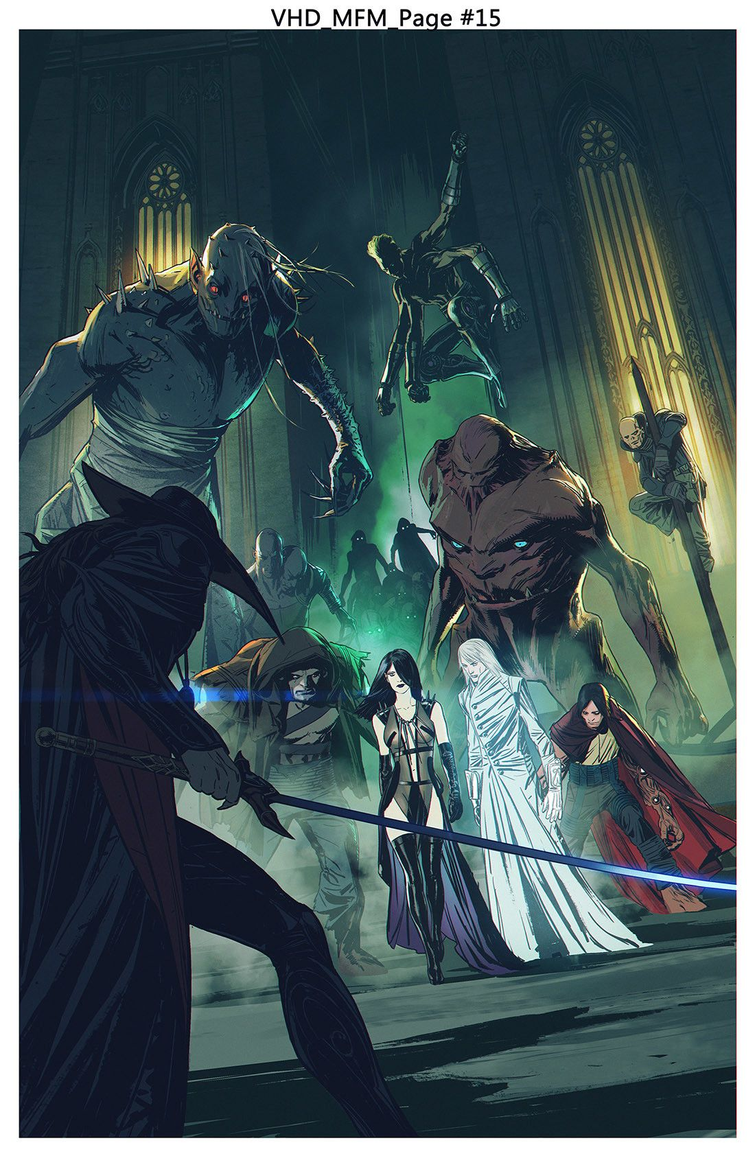 Artstation Vampire Hunter D Message From Mars 2nd Stand Off Michael Broussard Diseno De Personajes Arte Fantasia Dibujos