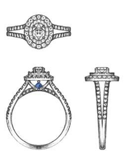 Mastersofjewelry 📞248 829 9858 Vera Wang Engagement