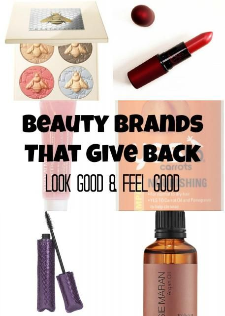Beauty Brands That Give Back