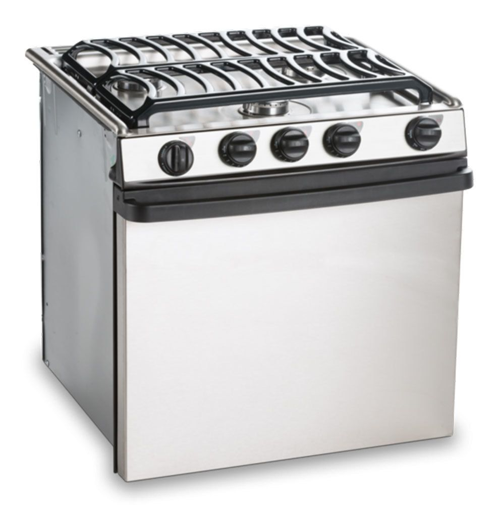 Dometic (Atwood) RA-2135SSPSA Oven 3-Burner Stove Stainless