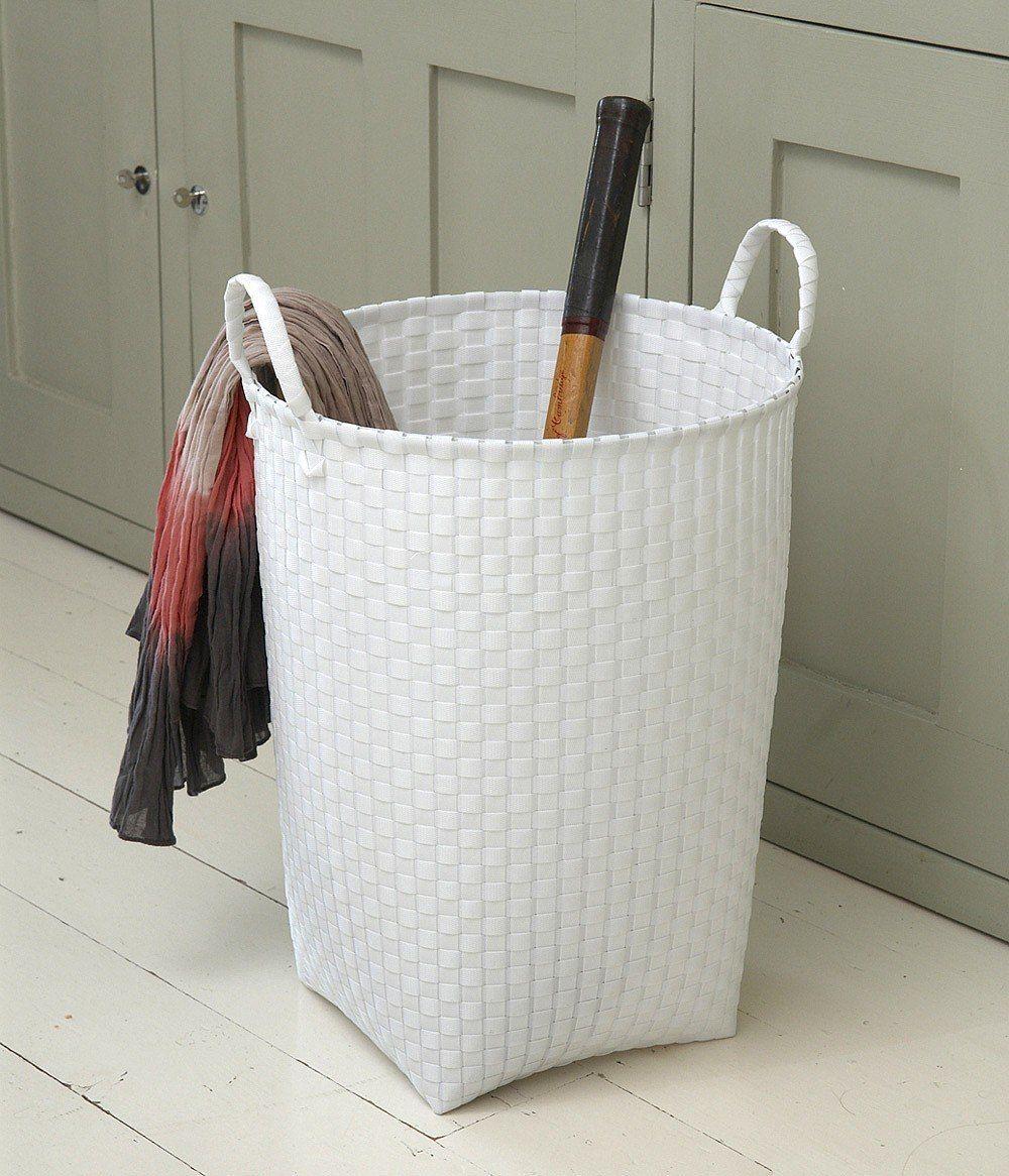 Laundry Bags And Baskets Part - 50: Laundry · Stylish White Laundry Basket ...