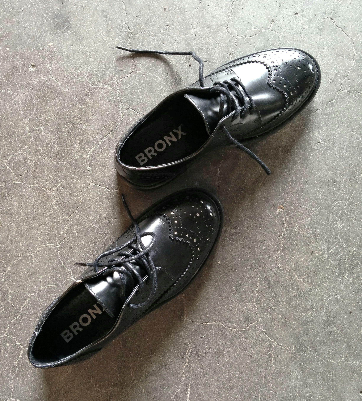 Bronx Shoes Black Brogues Bronx Shoes Black Brogues Shoes