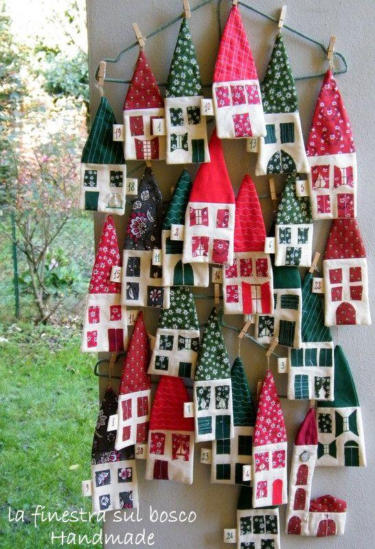 Très La finestra sul bosco Handmade: Calendario dell'avvento fai da te  UC29