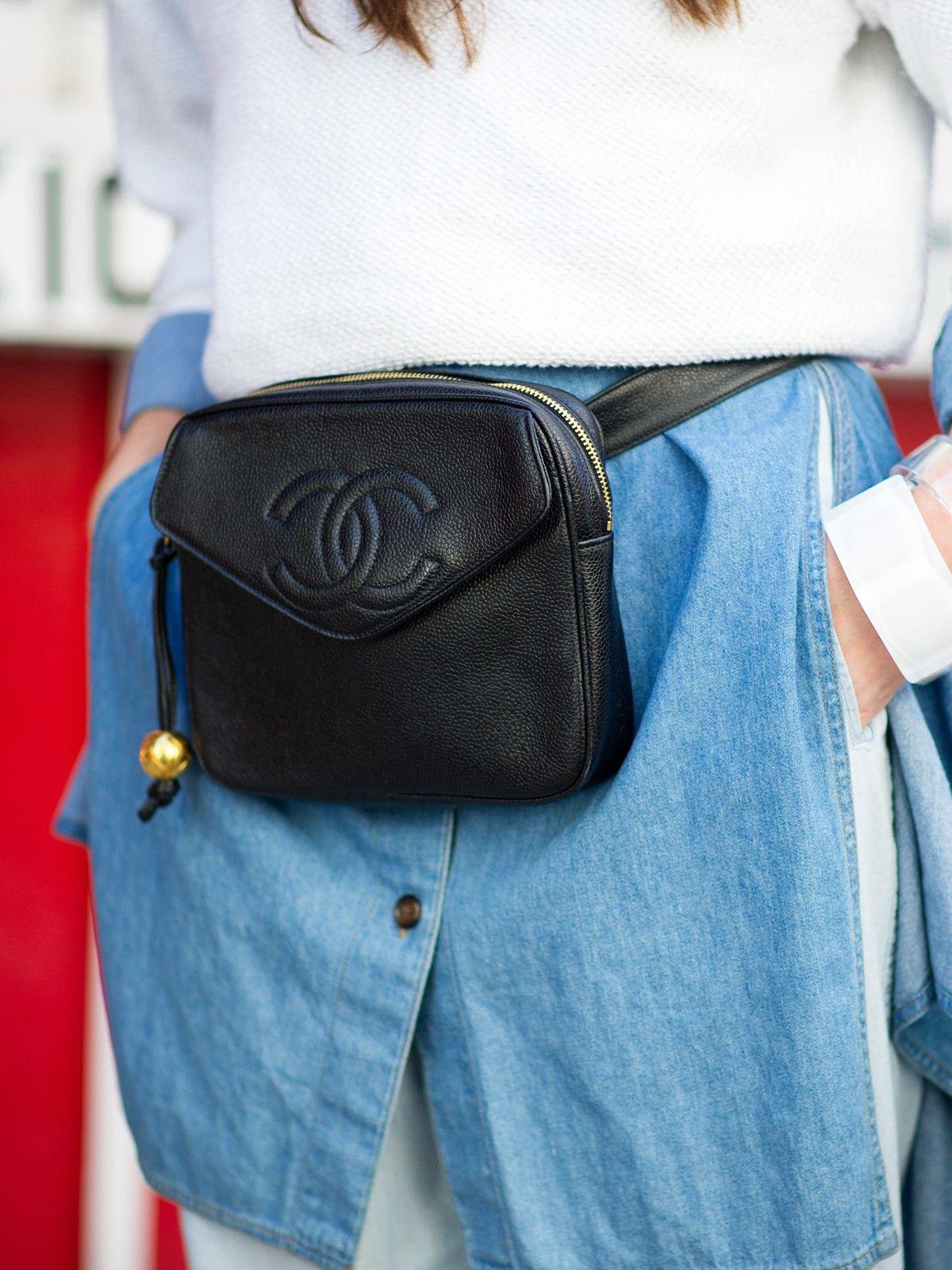 3fdcdcfa09 expensive fanny pack Refinery29 Shops: Chanel hip pack - Wonderland ...